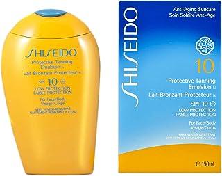 資生堂 Protective Tanning Emulsion N SPF 10 (For Face & Body) 150ml/5oz並行輸入品