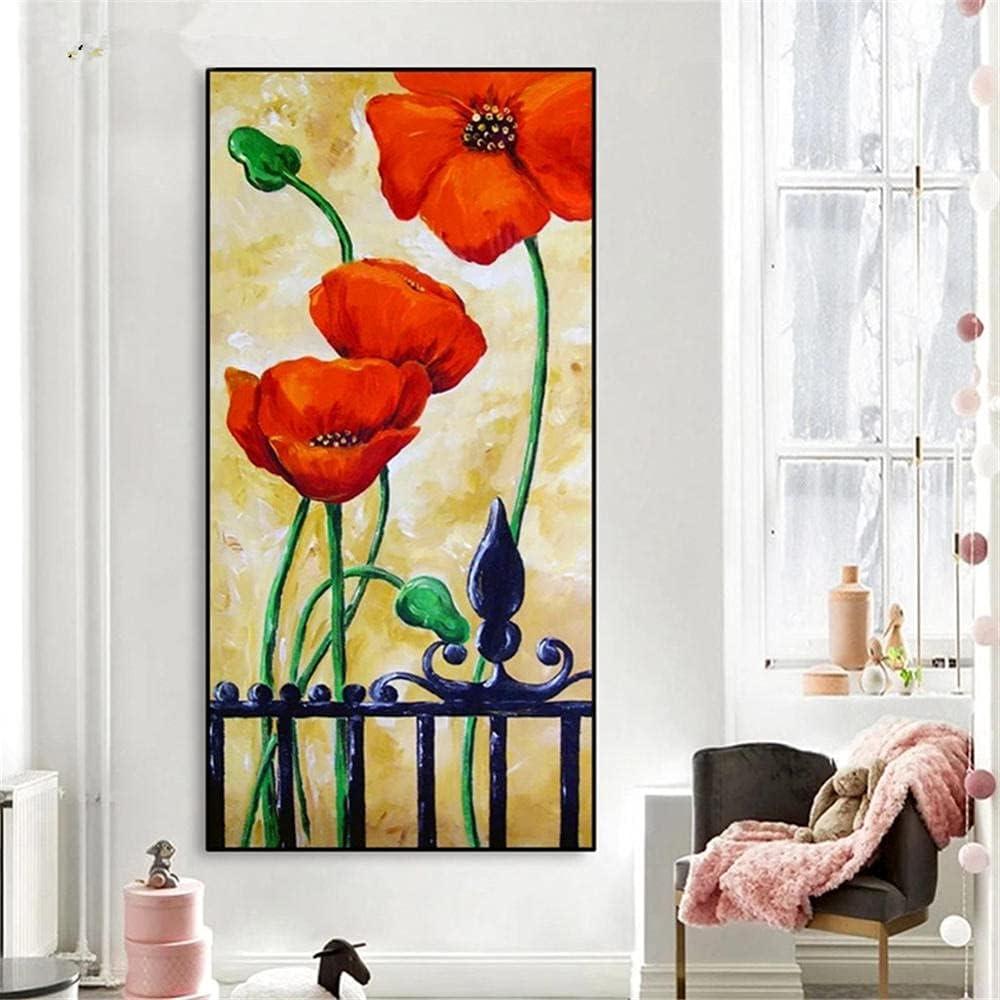 5D DIY Diamond Painting Kits Flower Adults Poppy Scenery Save Sale SALE% OFF money 40x120