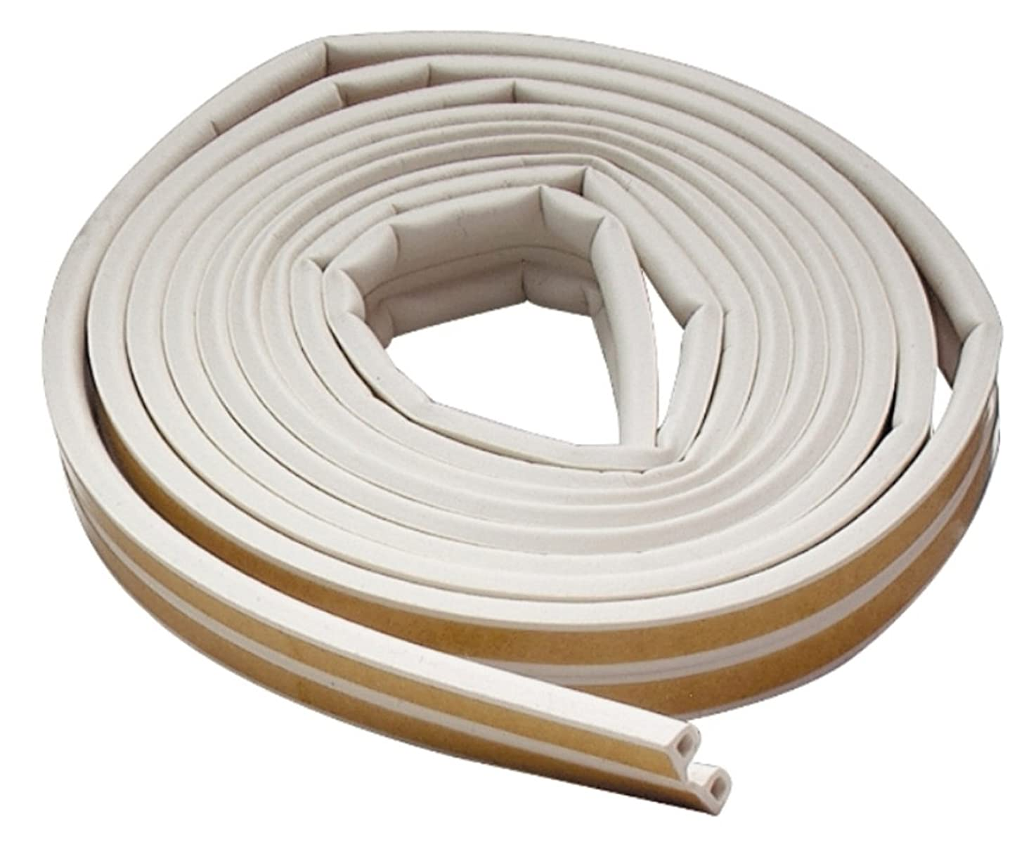 M-D Building Products 2576 M-D 0 All Climate P-Profile Subzero Weather-Strip, 17 Ft L X 3/8 in W 7/32 in T, Epdm Rubber, White