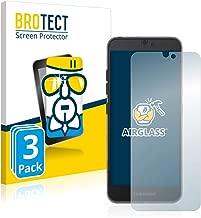 brotect Panzerglas Schutzfolie kompatibel mit Fairphone 3 (3 Stück) - AirGlass, 9H Härte, Anti-Fingerprint, HD-Clear
