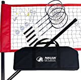 Park & Sun Sports Portable Outdoor Badminton Net System with...