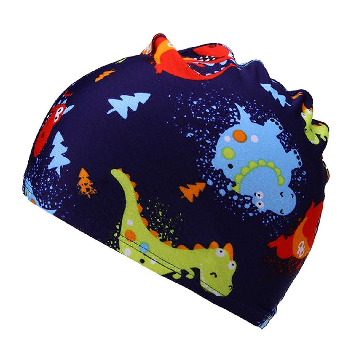 ハッピー良さ積分キッズ 水泳帽 スイムキャップ Kaiweini水泳柔らかいキャップ 子供 女の子 男の子 スイミングキャップ プール帽 可愛いサメ 魚 ベビー 海水帽 プール 海水浴 海 温泉 ダイビング 水泳用品