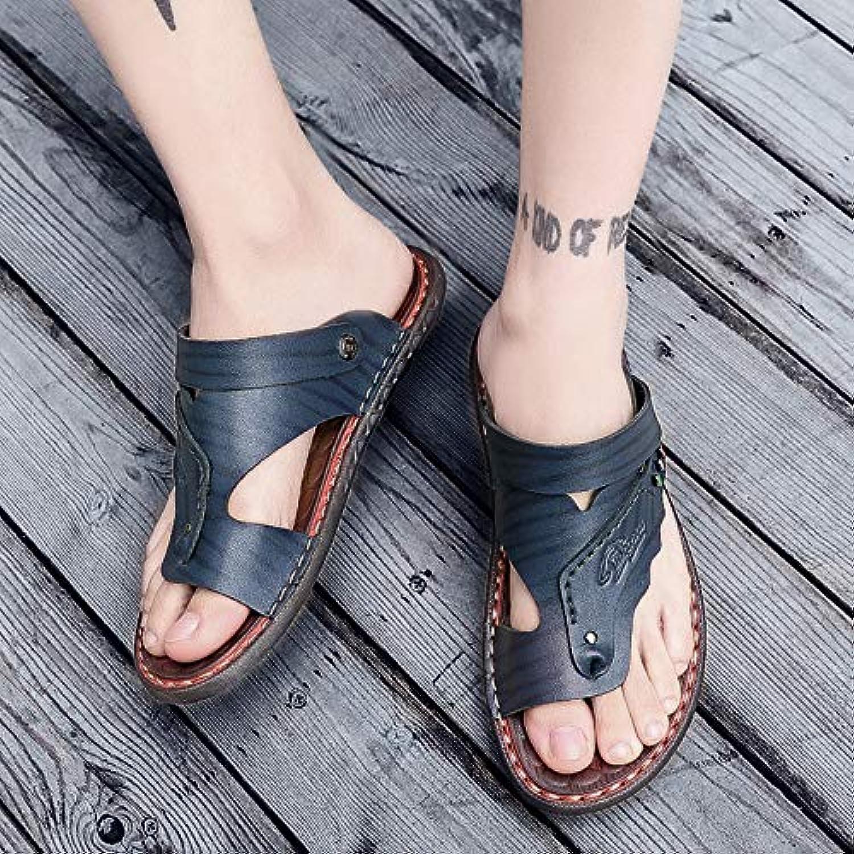 Shukun Flip-Flops Flip-Flops für Herren Sandalen Herren-Zehenstrand Herren-Flip-Flops Herren-Sommermode tragen Sandalen und Hausschuhe  Marke