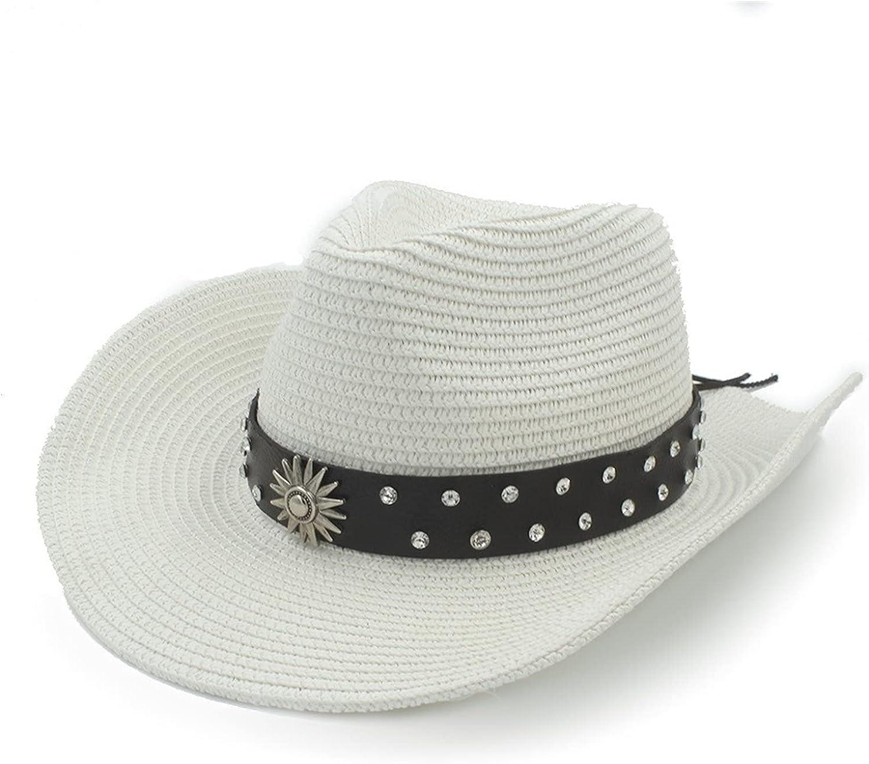 Women Men Luxury Straw Western Cowboy Hat W Challenge the lowest price of Japan ☆ Gentleman For Caps Sombrero