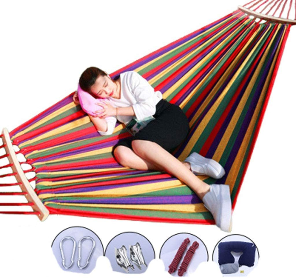 Lsxlsd Camping Hammock-Garden Hammock-Suitable Two Discount mail order People-Po for Free shipping / New