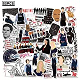 Criminal Minds Stickers 50pcs Vinyl Water Proof TV Show Decal for Laptop Skateboard Bumper Cars Computers Cool Teens Adults Decorations