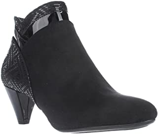 Karen Scott Womens Cahleb Fabric Closed Toe Ankle Fashion Boots (Renewed)
