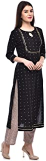 GULMOHAR JAIPUR Women's Cotton Readymade Salwar Suit