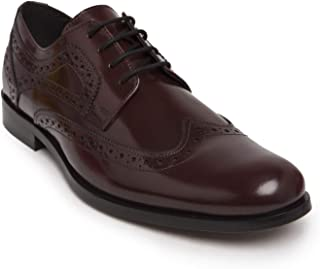 HATS OFF ACCESSORIES Patent Leather Burgundy Brogues Shoes