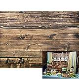 AOFOTO 8x6ft Vintage Wooden Fence Photography Background Old Wood Plank Backdrop Grunge Hardwood Board Retro Panels Kid Adult Girl Boy Portrait Photoshoot Studio Props Video Drape Wallpaper