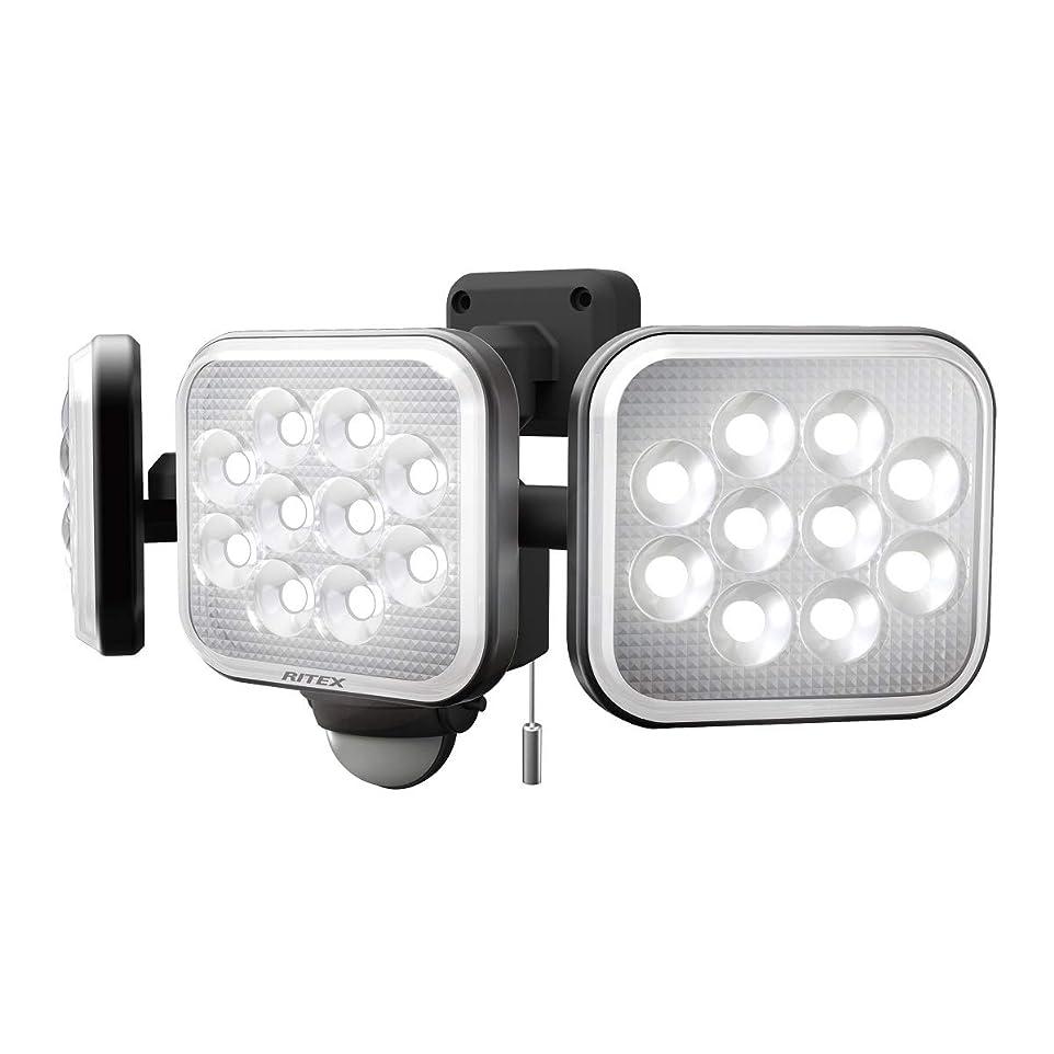 路面電車蒸し器アストロラーベムサシ(MUSASHI) センサーライト ブラック 本体サイズ: 幅 32.2 × 奥行 15 ×高さ 13.5 cm 14W×3灯フリーアーム式LEDセンサーライト LED-AC3042