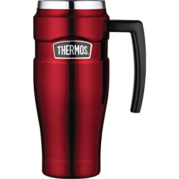 best travel coffee mug -Thermos Stainless King