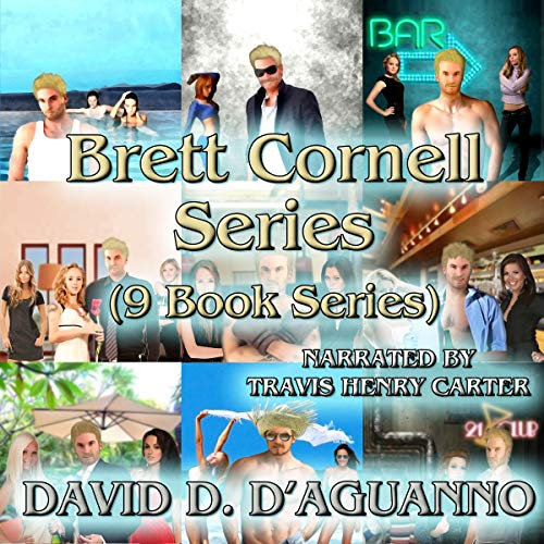 Brett Cornell Mysteries: 9 Book Series audiobook cover art