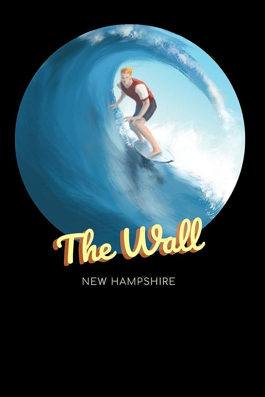 不測の事態パックアンソロジーThe Wall New Hampshire: Surfing Journal - Schedule Organizer Travel Diary - 6