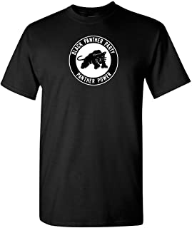 New Black Panther Party LogoMalcolm X Men's T-Shirt Size S to 3XL