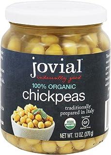 Jovial Chickpeas,Og1 13 Oz (Pack of 6)