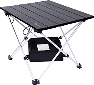 Portable Camping Table, Sportneer Lightweight Folding...