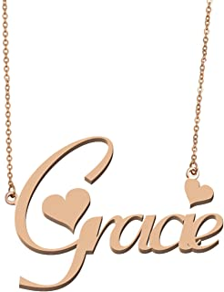 gracie name necklace