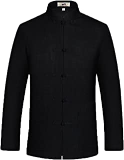 Best Chinese Tang Suit for Men Kung Fu Clothing Tops Martial Art Cotton Shirt Review