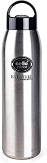 Cello Sobo Stainless Steel Flask, 400ml, Black