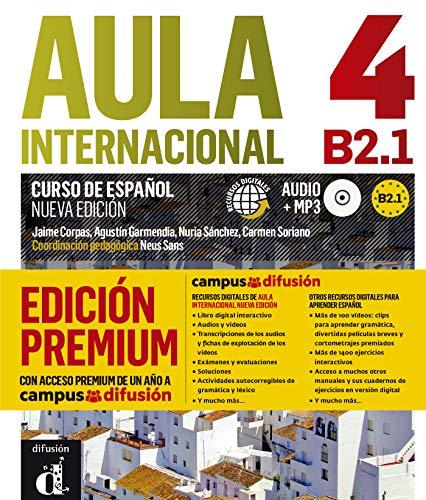 Aula Internacional Nueva Edición 4 Premium libro del alumno + CD: Aula Internacional Nueva Edición 4 Premium libro del alumno + CD