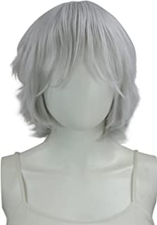 Epic Cosplay Apollo Silvery Grey Short Wig 13 Inches (33S1)