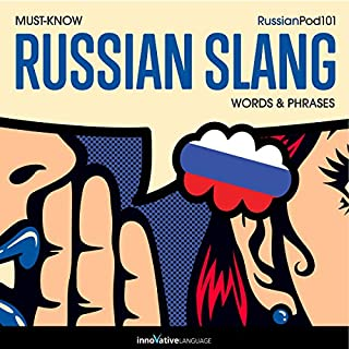 Learn Russian: Must-Know Russian Slang Words & Phrases audiobook cover art