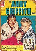 Andy Griffith 注意看板メタル安全標識注意マー表示パネル金属板のブリキ看板情報サイントイレ公共場所駐車ペット誕生日新年クリスマスパーティーギフト
