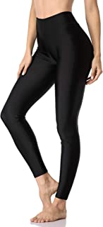 ATTRACO Womens UPF 50+ Surfing Leggings Swimming Tights Diving Canoe Wetsuit Pants
