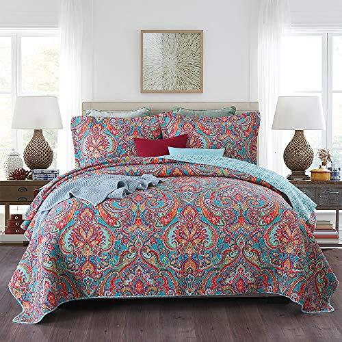 Autumn Dream Cotton Bedspread Qu...