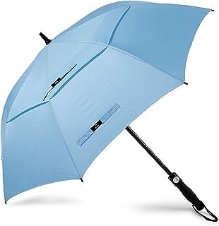 Prospo Paraguas de golf de 62/68 pulgadas, grande,