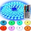 Lighting Equipment & Accessories - Rxment Led Strip Lighting 10M 32.8 Ft 5050 RGB 300LEDs Flexible Color Changing Full Kit with 44 Keys IR Remote Controller , Control Box ,24V 3A Power Supply for Home Decorative