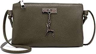 Gift Bags, 2018 New Womens Leather Crossbody Bag Small Deer Shoulder Bags Messenger Bag Coin Bag