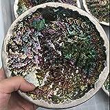 MCWJ Venta al por Mayor Aura Natural Arco Iris bismuto Mineral Forma de Torre Piedra Cuarzo Color Piedra Reiki curación decoración del hogar fengshui