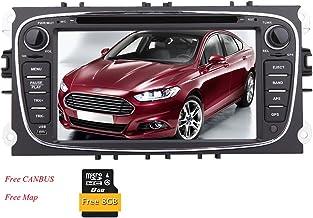 Eincar para Ford Mondeo (2007-2011) / Ford S-MAX (2008-2012) / Ford Focus (2008-2010) / Ford Galaxy (2010-2012) Coches Reproductor de DVD EST¡§|reo de 7 Pulgadas Wince navegaci¡§?n por Sat¡§|Lite