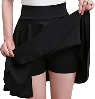 [ユニグランド] スカート レディース ミニスカート フレアスカート インナー 付き