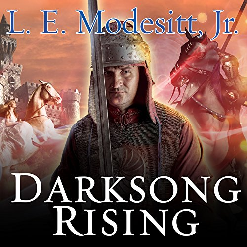 Darksong Rising audiobook cover art
