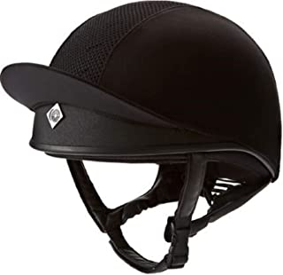 Charles Owen Pro II Plus Skull Riding Hat Round Fit Black 59cm