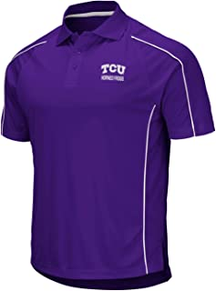 Stadium Athletics TCU Horned Frogs NCAA Bunker Men's Performance Polo Shirt