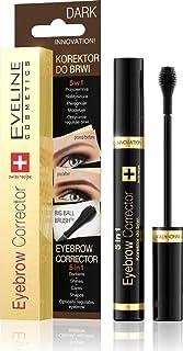 Eveline Cosmetics Eyebrow Corrector 5 in 1 , Dark Brown , 9 ml