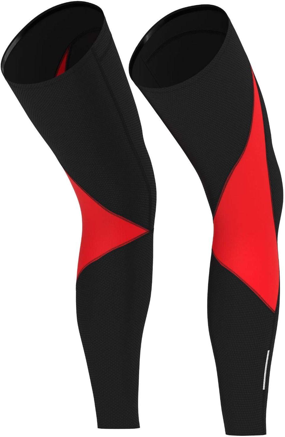 Deportes Hera Ropa Ciclismo Perneras T/érmicas Calentadores de Las piernas Medias de Invierno Ciclistas Hombre