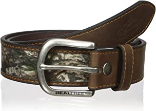 Real Tree Men's Camouflage Inlay Belt