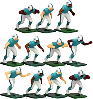 Miami Dolphins Home Jersey NFL Action Figure Set