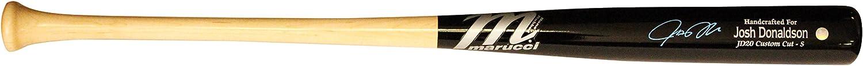 Frameworth Josh Donaldson Signed Bat blueee Jays, One Size, Black