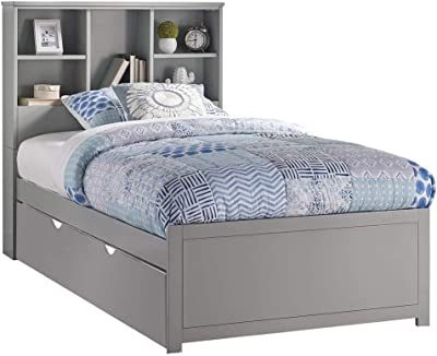 Rosebery Kids Twin Arch Panel Bed in Stone