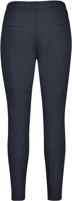 Gerry Weber Hose Freizeit Verkürzt Pantalon Femme Bleu Marine