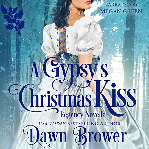 A Gypsy's Christmas Kiss audiobook cover art