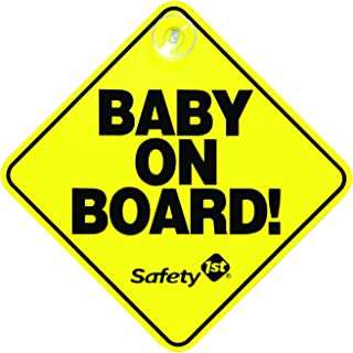 SAFETY 1ST Baby On Board Sign, Yellow
