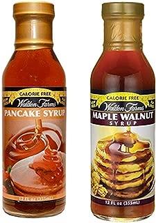 Walden farms Calorie Free Maple Walnut Syrup & Pancake Syrup 12 oz
