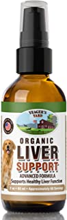 Yeager's Yard Organic Advanced Milk Thistle for Dogs, Liver Support and Detox, Made in The USA